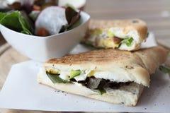 Sandwich egg and avocado Stock Image