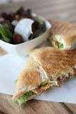 Sandwich egg and avocado Stock Images