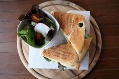 Sandwich egg and avocado Stock Photo