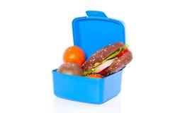 Sandwich en fruit Stock Afbeelding