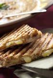 Sandwich en Soep royalty-vrije stock foto's