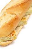Sandwich espagnol à tortilla de patatas Images libres de droits