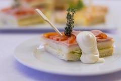Sandwich für Bankett Stockbilder