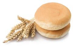 Sandwich für Hamburger Stockfoto