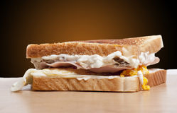 Sandwich fastfood Stock Images