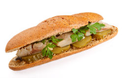 Sandwich with fish Stock Photography