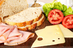 Sandwich Fixings Stock Photography