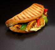 Sandwich Flatbread Stock Afbeeldingen