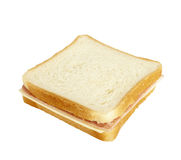 Sandwich food eating snack meal Stock Photography