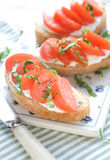 Sandwich For Breakfast Royalty Free Stock Photo