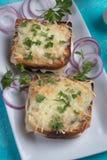 Sandwich français à Monsieur de croque photos stock