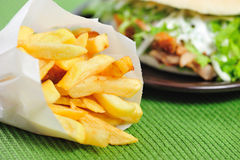 Fresh fries Royalty Free Stock Photo