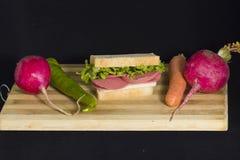 Sandwich froid Images libres de droits