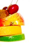 Sandwich of fruits Royalty Free Stock Photography