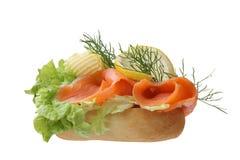 Sandwich gastronome Photographie stock libre de droits