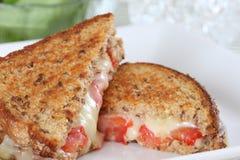 Sandwich grillé à fromage photographie stock