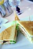 Sandwich grillé Photo stock