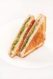Sandwich with ham Stock Photos