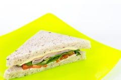 Sandwich ham Stock Image