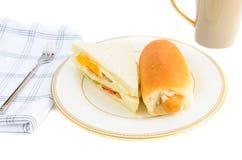 Sandwich and hotdog Royalty Free Stock Image