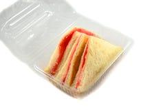 Sandwich im Kasten Stockfotografie