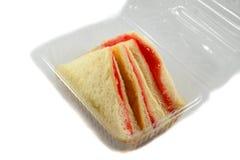 Sandwich im Kasten Lizenzfreie Stockfotografie