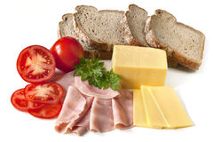 Sandwich Ingredients Royalty Free Stock Images