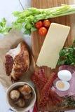 Sandwich ingredients Stock Photo