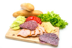 Sandwich ingredients Royalty Free Stock Photos