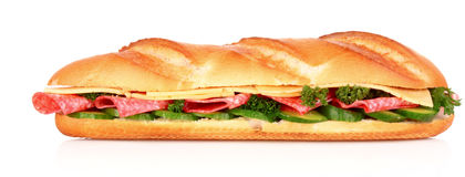 Sandwich isolated Royalty Free Stock Photos