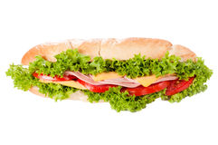 Sandwich isolated Stock Photography
