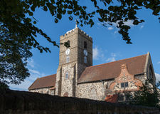 SANDWICH, KENT/UK - SEPTEMBER 29 : View of St Peter's Church in Stock Photo
