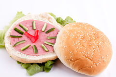 Sandwich for kids Stock Photos
