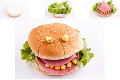 Sandwich for kids Stock Photo
