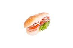 Sandwich, kip, de sandwich van de tomatenui Stock Afbeelding