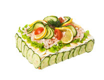 Sandwich Layer Cake Stock Images