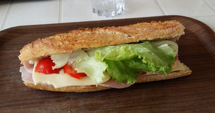 Sandwich. For lunch stock photography