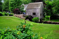 Sandwich, MA: 1637 Dexter Grist Mill Stock Images