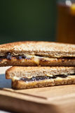 Sandwich with marmite Stock Image