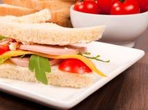 Sandwich meal Stock Photos