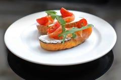 Sandwich met ham en kaas Stock Afbeeldingen