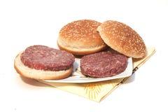 Sandwich mit Fleisch Lizenzfreie Stockfotos