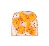 Sandwich mit Früchten Lizenzfreies Stockfoto