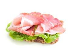 Sandwich mit Schinken Lizenzfreie Stockfotografie