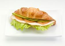 Sandwich mit Schinken Lizenzfreie Stockfotos