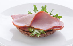 Sandwich mit Schweinelende Stockfotos