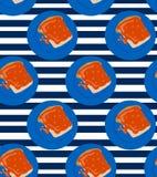 Sandwich mit Stau Stockbild