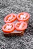 Sandwich mit tomato Lizenzfreie Stockfotografie