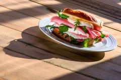 Sandwich in morning light Stock Image
