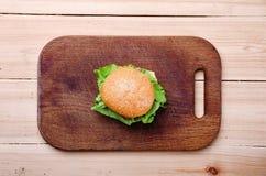 sandwich Nahrung Neues u. gesundes Lebensmittel Konzept Lizenzfreie Stockbilder
